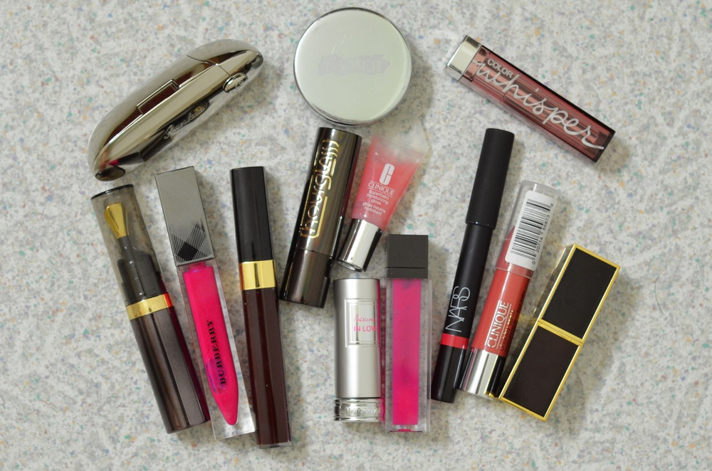 guerlain rouge g lipstick review, la mer lip balm review, burberry lip glow review, tom ford lipstick review, hourglass lip oil review, favorite lip products