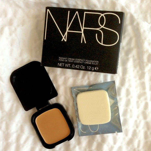nars radiant cream foundation refill, nars radiant cream foundation review