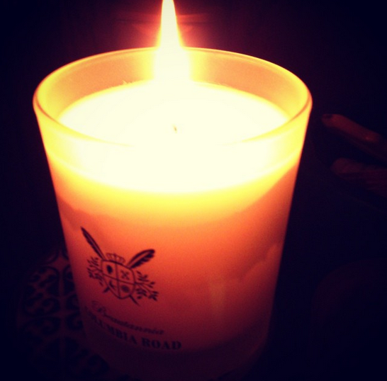 columbia road candle