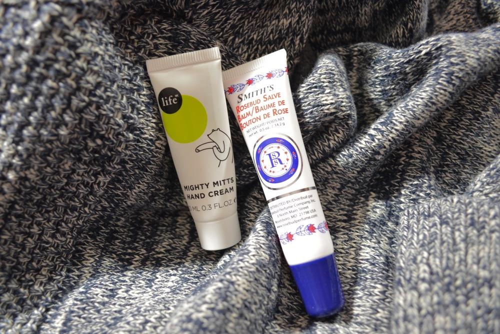 Smith's Rosebud Salve Review, Life NK Hand Cream review