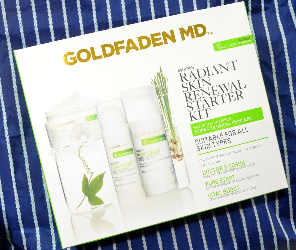 goldfaden md radiant skin renewal starter kit review