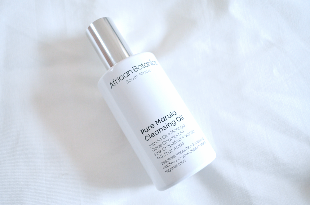 African Botanics Pure Marula Cleansing Oil Review
