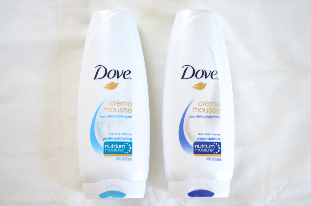 dove creme mousse gentle exfoliating body wash review, dove creme mousse deep moisture body wash review