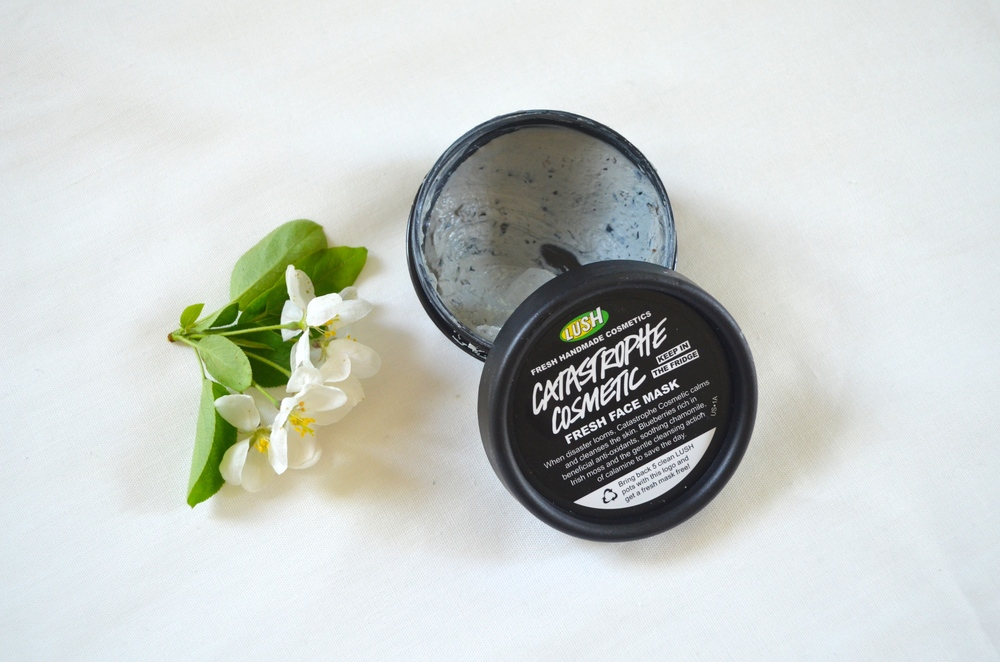 lush catastrophe cosmetic face mask review