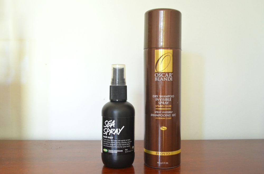 Lush Sea Spray, Oscar Blandi Invisible Dry Shampoo