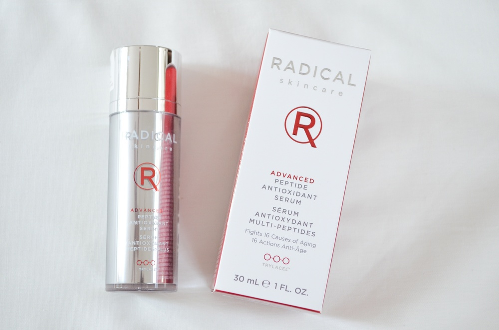 Radical Skincare Advanced Peptide Antioxidant Serum Review
