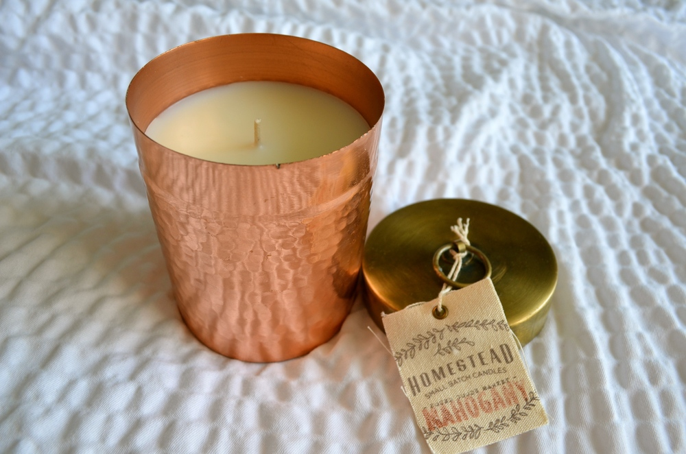 Found goods market homestead mahogany candle review