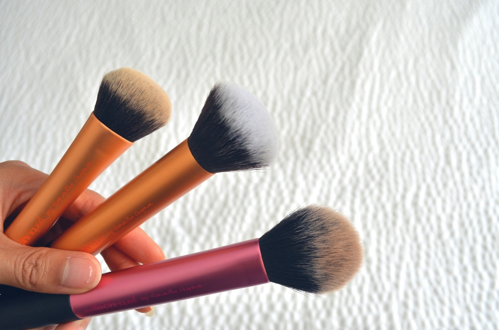 Real Techniques Expert Face Brush review, Real Techniques Buffing Brush review,Real Techniques Multi-Task Brush review