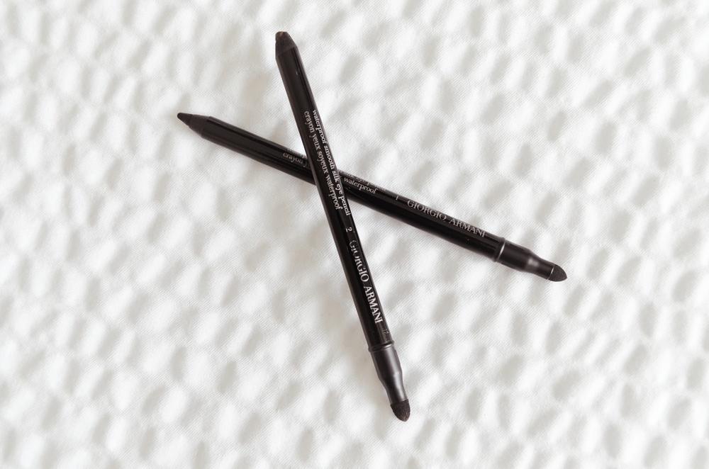 Armani Waterproof Smooth Silk Eyeliner Review, Armani Eyes to Kill Eyeliner review