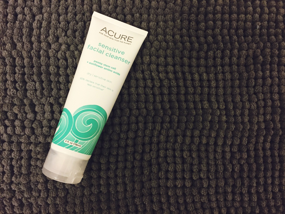 ACURE Organics Sensitive Facial Cleanser Review