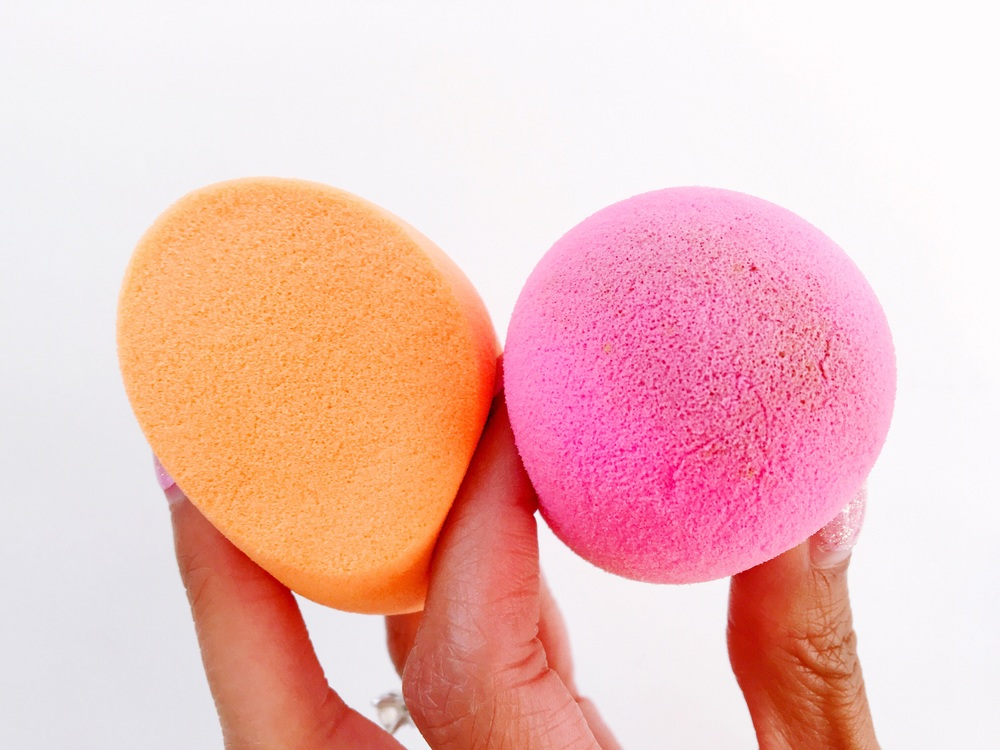 Real Techniques Miracle Complexion Sponge, beautyblender comparison