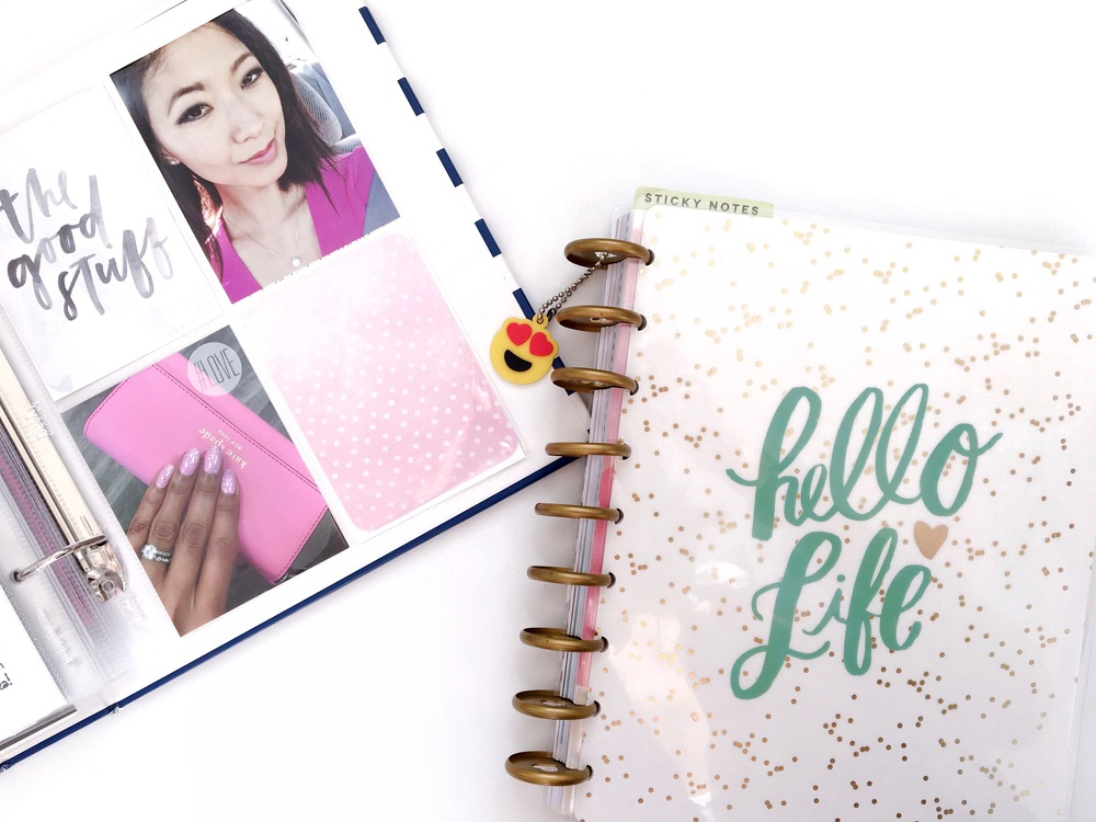 Project Life 6x8 Layout, Happy Planner Hello Life Planner