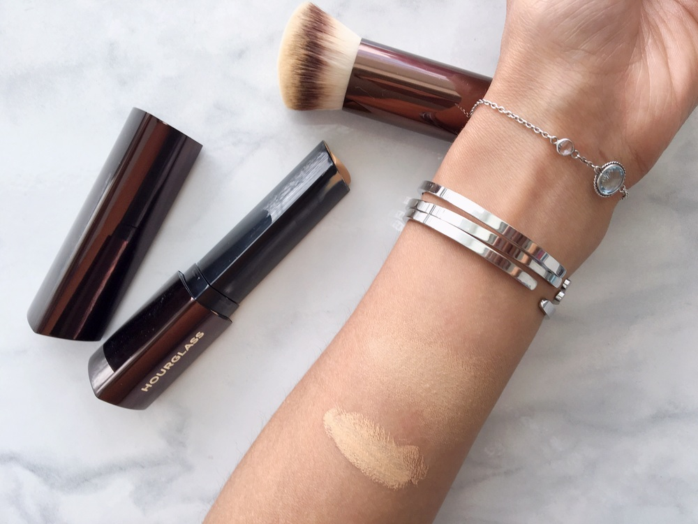 Hourglass Vanish Foundation Stick in Golden, swatch, review