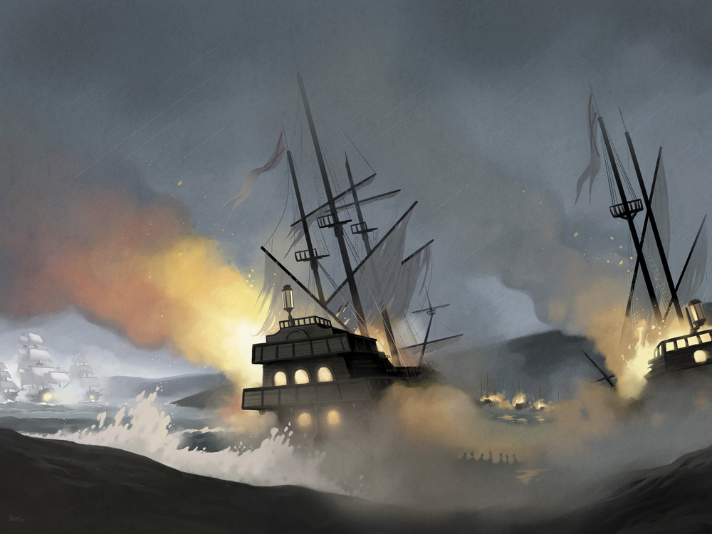 Batalla de Rande-Battle of Vigo Bay