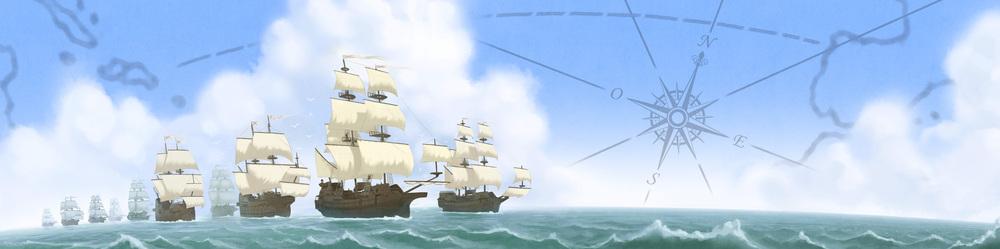 El tesoro de la Flota de Indias- The Spanish treasure fleet -Para Vigo me voy !