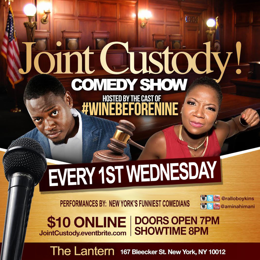 Joint Custody Wednesday, June 1st 8:oopm - 1o:oopm The Lantern  167 Bleecker St.   New York, NY 10012   Tickets