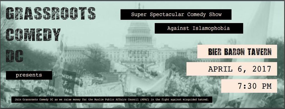 Super Spectacular Comedy Show Thursday, April 6th 7:3opm-9:3opm  Bier Baron Tavern | 1523 22nd St. NW| Washington, DC 20037   Tickets