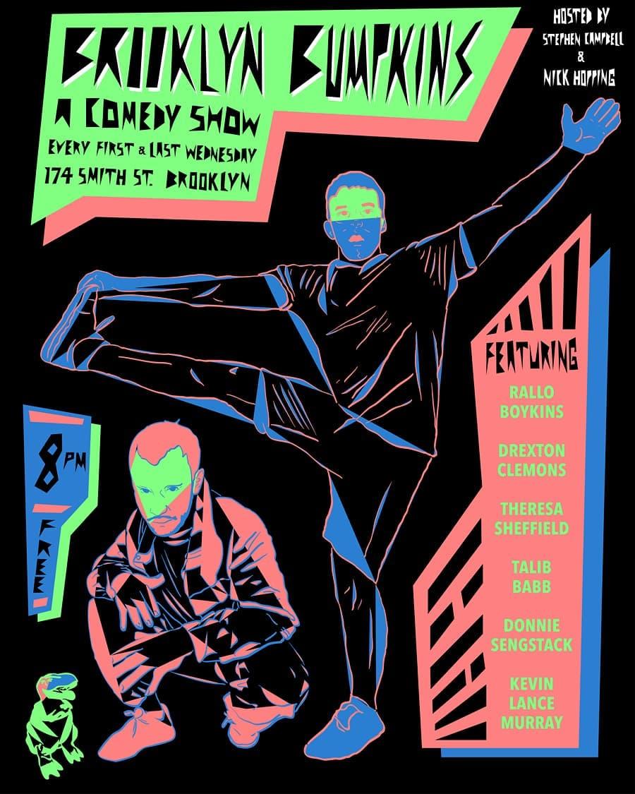 Brooklyn Bumpkins Tuesday, Nov 27th 7:3opm-9:oopm Pane e Vino | 174 Smith St | Brooklyn, NY 11201