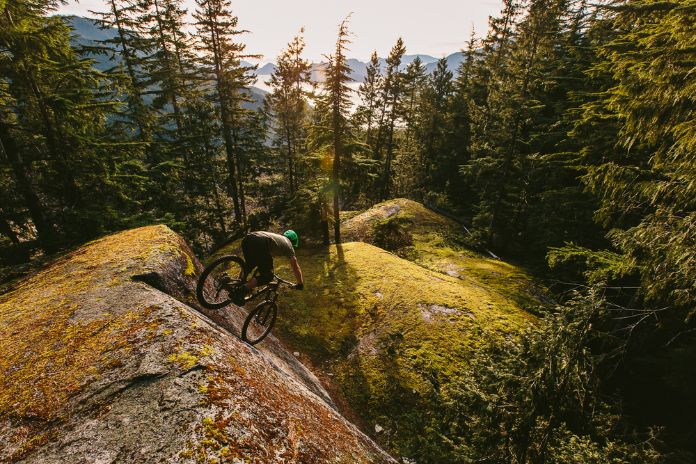 Pat Foster nose wheelie - Squamish BC