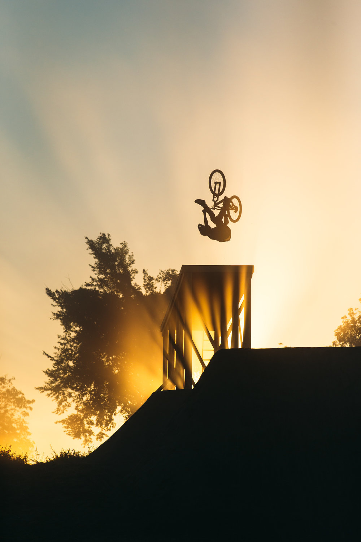 Brett Rheeder Bike Mag Photo Annual Cover