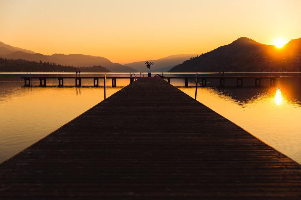 Tom van Steenbergen Kalamalka Dock Front Flip, Vernon BC