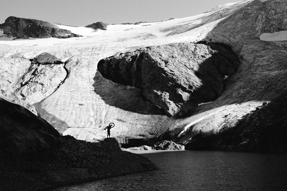 Casey Brown - Blanket Glacier, British Columbia