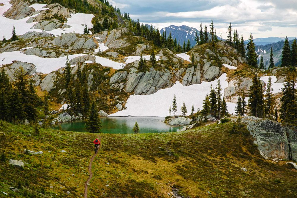 Noah Brousseau, Monashee Mountains BC