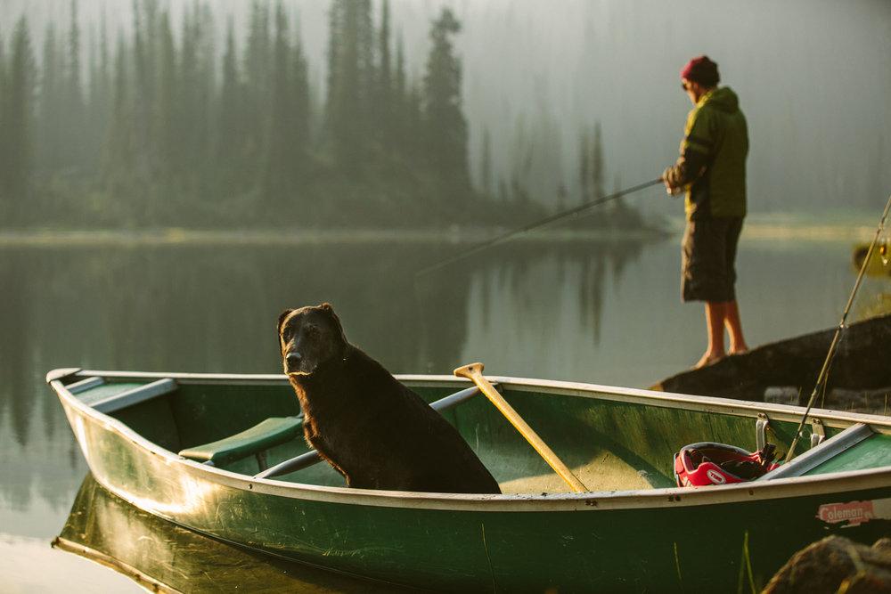 Marty Schaffer, Blanket Glacier Lodge, BC