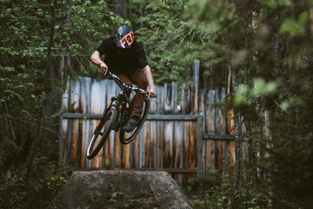 Slalom track Vernon with Bas van Steenbergen - Photo: Robb Thompson Photo