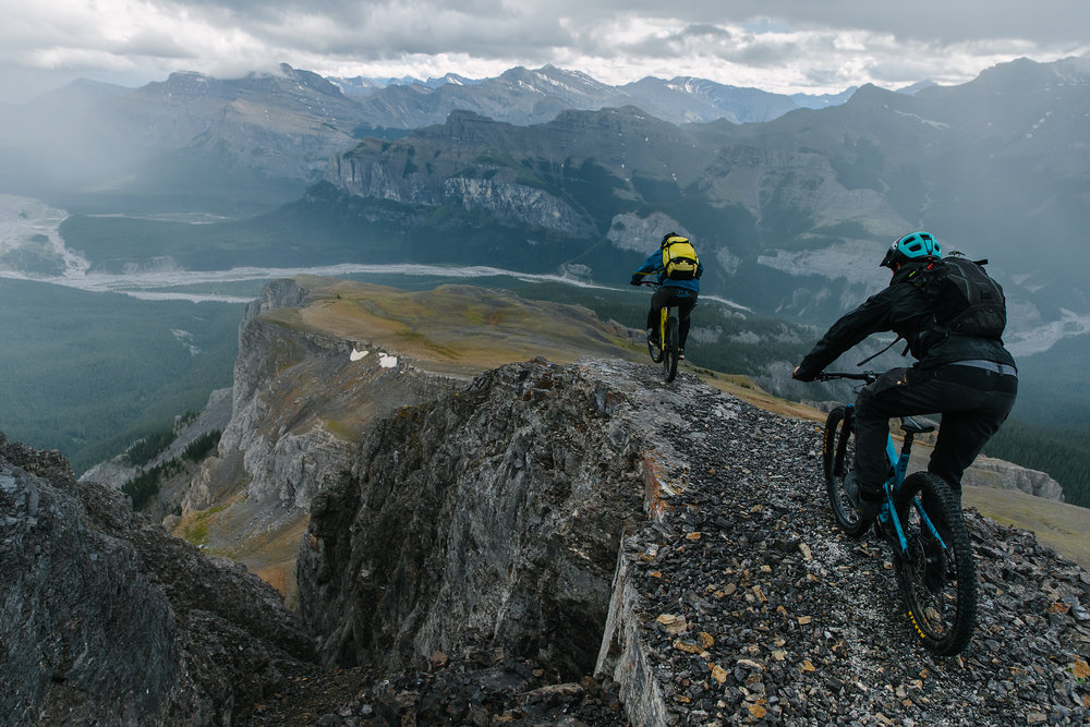 East of the Divide - Riding Alberta's Rocky Mountaiins