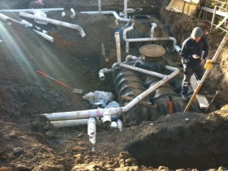 One of our larger work projects at Gipps Plumbing - Melbourne's best local plumbers