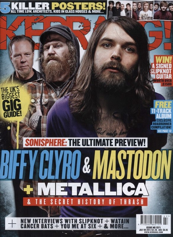 Mastodon Kerrang cover Sonisphere.jpg
