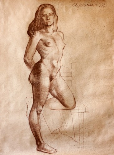 A Nude Standing