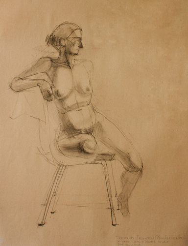 15-minute study of a female figure