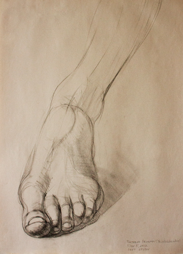 30-minute foot study