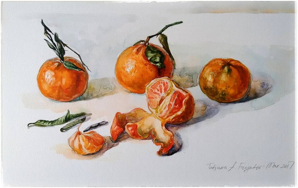 Still-Life with the Clementines