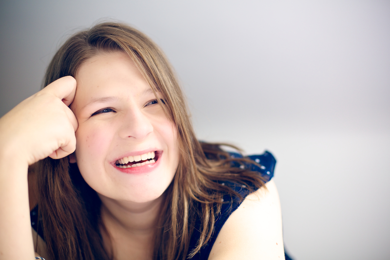 female teenage portrait