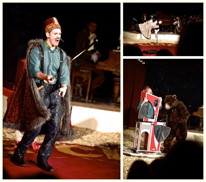 magician at Giffords Circus