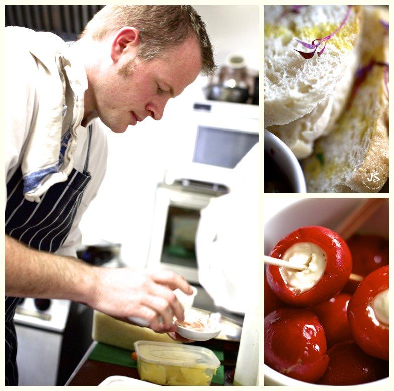 The Royal Exchange Hartbury food prep