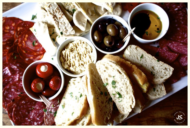 The Royal Exchange Hartbury sharing platter