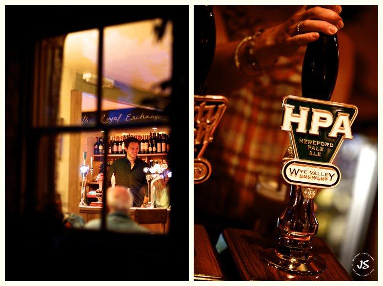 The Royal Exchange Hartbury beer