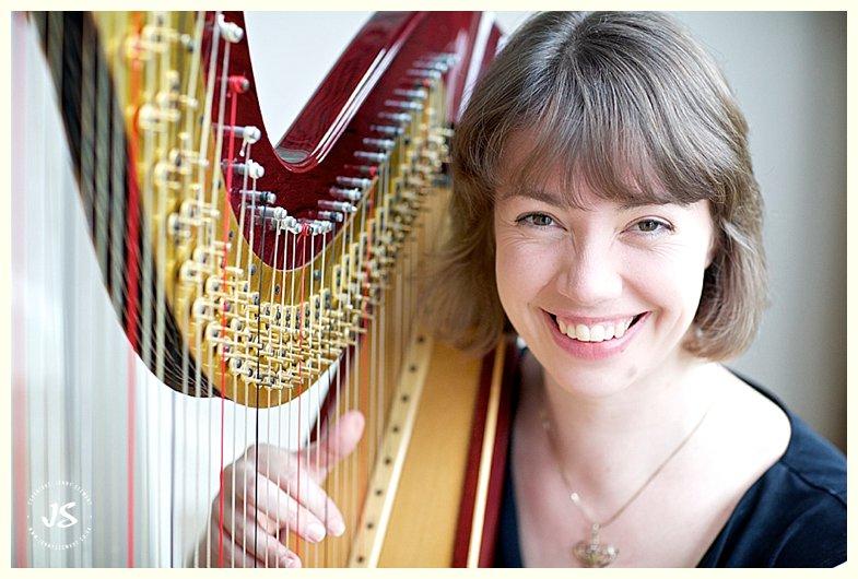 sally jenkins commercial portrait harpist