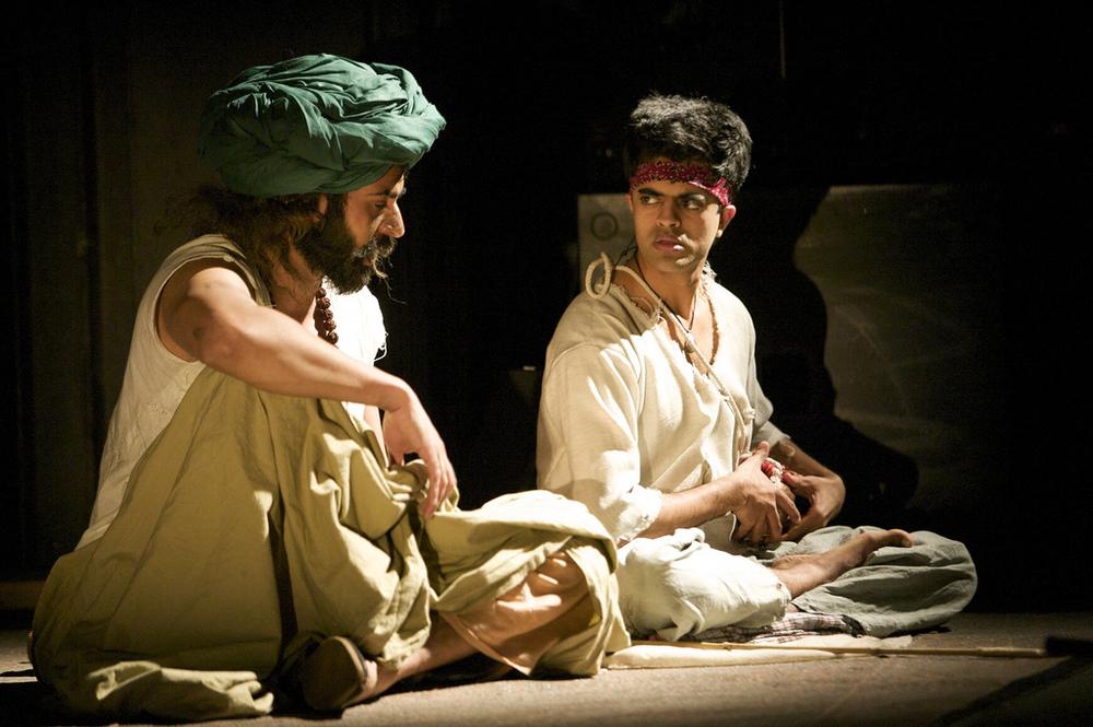 Shammi Aulakh (Baba) and Divian Ladwa (Changoo)