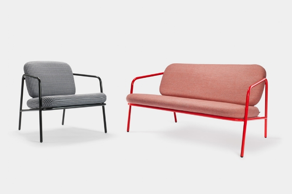 Working Girl Lounge Chair & Sofa by David Irwin