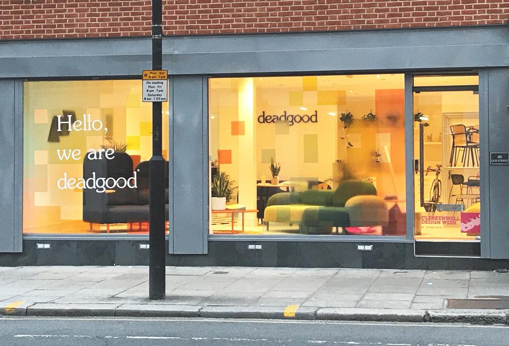Deadgood Showroom: 46 Old Street, London, EC1V 9AQ +44 (0) 203 371 0214