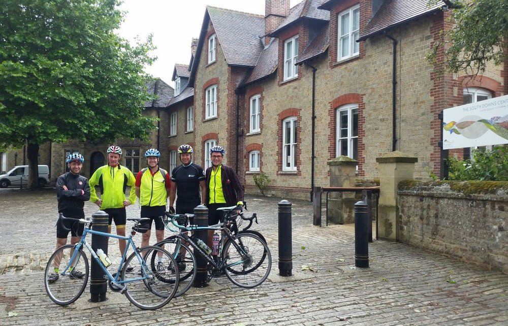 On Saturday 22nd July 2017 a group of Dads set off on the inaugural cycle ride.  They cycled 100 miles, very fitting before the start of our Centenary year, to raise money for the Centenary Garden Fund. The adventure started from Parsons Green at 7am in the morning and ended up at Midhurst Grammar school, where LMS was relocated during the war http://www.ladymargaret.lbhf.sch.uk/school-history before they turned round and headed back to Parsons Green! Thank you to all the parents who supported them by sponsoring and donating via Just Giving
