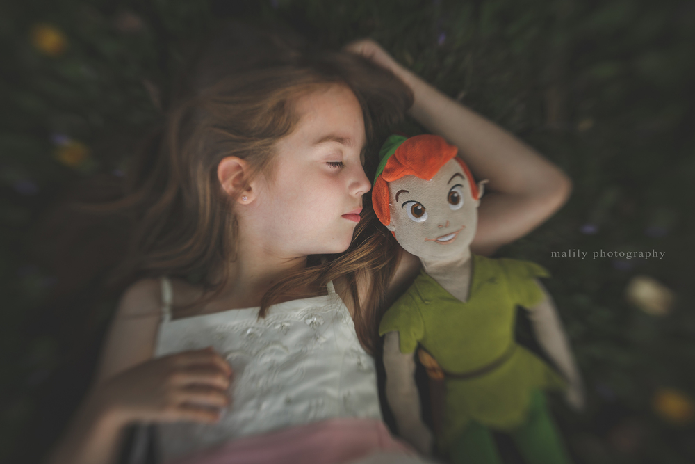 malily photography | she loves peter pan