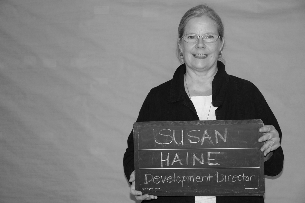 Susan Haine, Development Director