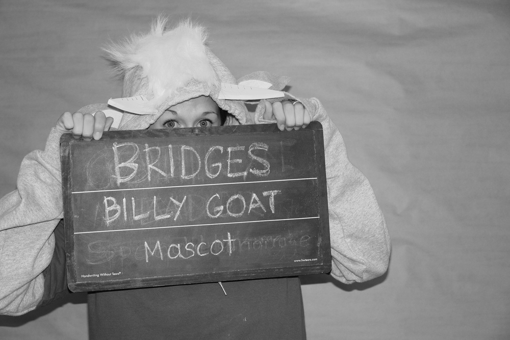 Bridges Billy Goat, Mascot