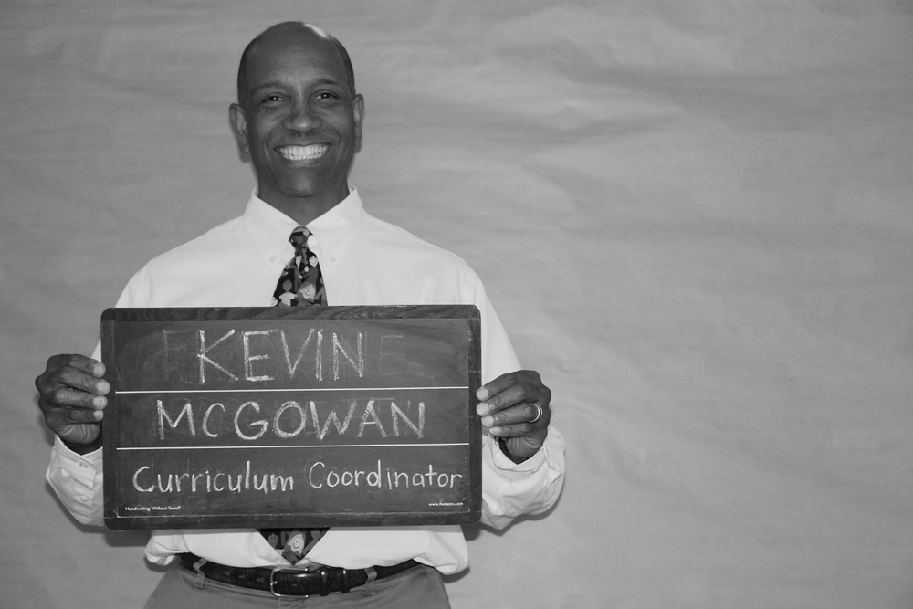 Kevin McGowan - Early Childhood Curriculum Coordinator